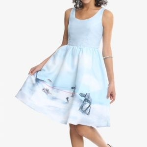 Her Universe M Hoth Pin Up Dress Disney